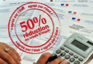 réduction de 50 % grâce à l'état